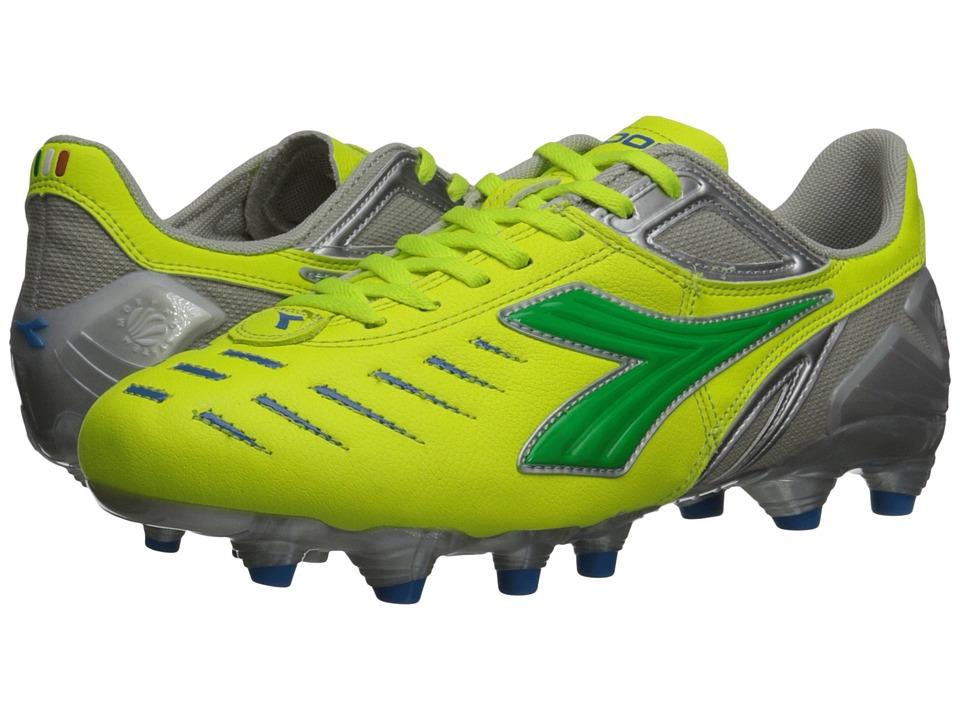 Diadora Maracana L W Yellow/Fluo/Lime/Royal Womens Shoes