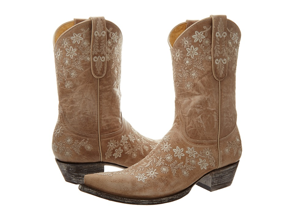 Old Gringo - Eveleight (Bone) Cowboy Boots