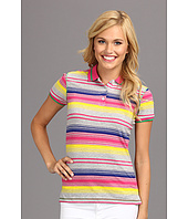 U.S. POLO ASSN. - Slub Multi Color Stripe Short Sleeve Polo