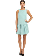 tibi - Katia Faille Sleeveless Flirty Dress