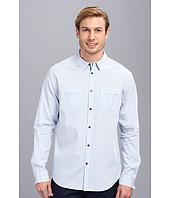 Elie Tahari  Steve Shirt - Fine Cotton Stripe  image
