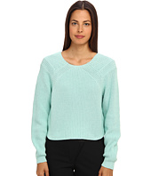 tibi - Plaited Sweater Cropped Pullover