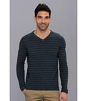 Elie Tahari  London Sweater - Magic Wash Merino Silk V-Neck  image