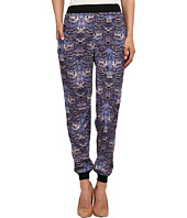 tibi - Ibis Print On Poly Cdc Easy Jogging Pant