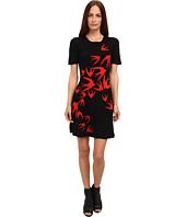 McQ - Swallow Jacquard Flirty Dress B