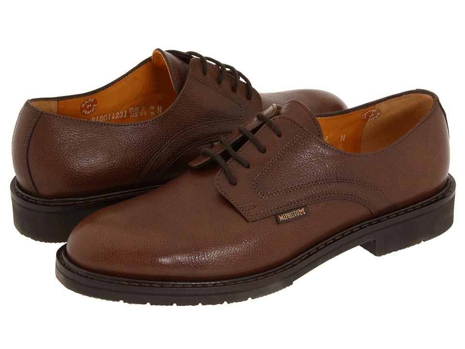 Mephisto - Marlon (Chestnut Pebble Grain Leather) Men