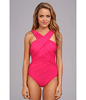 Miraclesuit - Novel Ideas Criscross Highneck Swimsuit