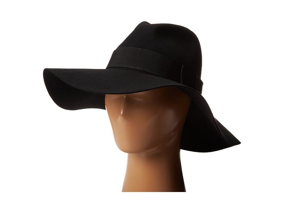 Brixton - Piper (Black/Black) Traditional Hats