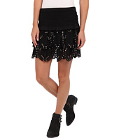 MICHAEL Michael Kors - Tiered Eyelet Mini Skirt