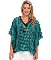 MICHAEL Michael Kors - Lace Up Poncho Top