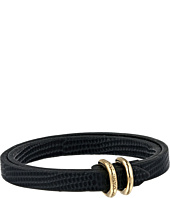 Marc by Marc Jacobs - Double D Ring Leather Bracelet