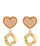 Marc by Marc Jacobs - Heart Drop Earrings