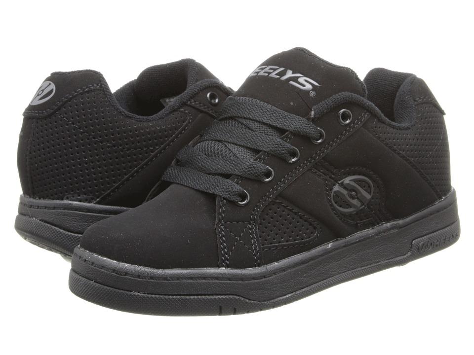 Heelys Split Little Kid/Big Kid/Mens Black/Black Boys Shoes