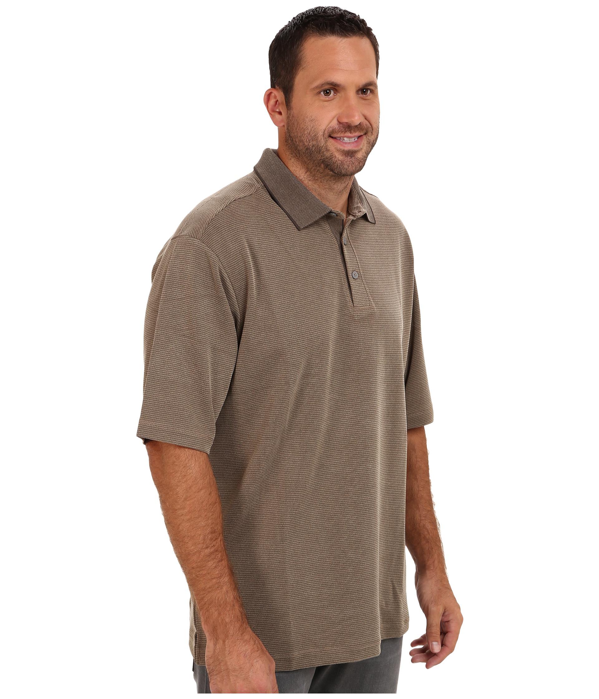 Tommy bahama big tall big tall sand drift stripe polo for Big size polo shirts