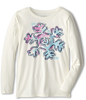 Life is good Kids - Fresh Snowflake Easy Long Sleeve (Little Kid/Big Kid)