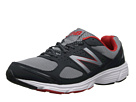 New Balance M550v1 Grey, Red Shoes