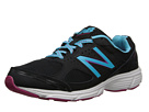 New Balance W550v1 Black, Blue Shoes