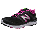 New Balance W850v1 Black, Pink Shoes