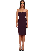 Zac Posen - Strapless Fitted Cocktail Dress