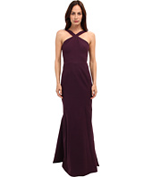 Zac Posen - Cross Strap Mermaid Gown