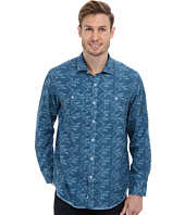 Tommy Bahama - Island Modern Fit Broadway Blue Print L/S Shirt
