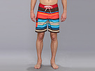 Sperry Top-Sider - Santa Monica Stripe 19 Boardshort (Multi) - Apparel
