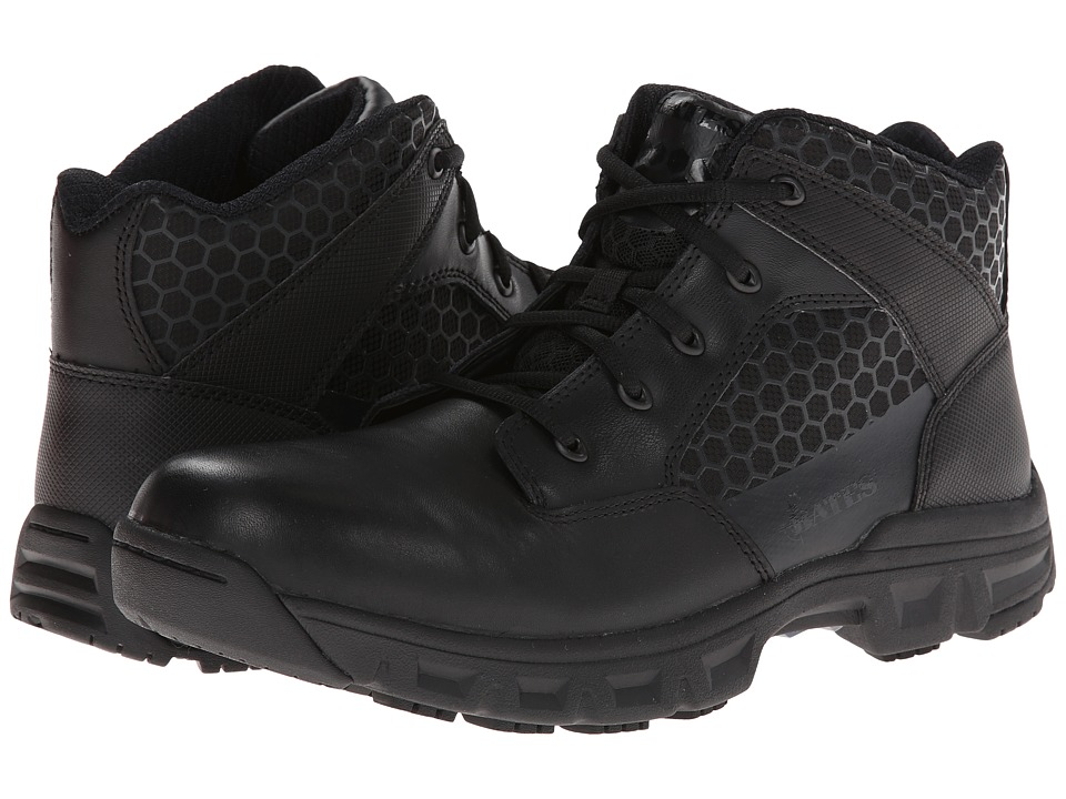Bates Footwear Code 6 4 Blacl Mens Work Boots