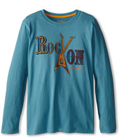 Life is good Kids - Rock On Feature Long Sleeve (Little Kid/Big Kid)