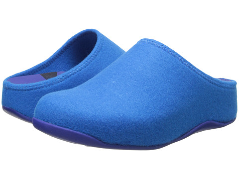 Shop FitFlop online and buy FitFlop Shuv Felt Mazarine Blue Shoes - FitFlop Shuv Felt Mazarine Blue Shoes: Have a little fun in the sun the with sporty FitFlop Shuv Felt. ; APMA Seal of Acceptance, for Shoes found to promote good foot health. ; Soft-felt upper with minimal seaming. ; Slip-on design for quick and convenient on and off. ; Soft textile lining helps prevent abrasion. ; Triple-density EVA midsole with sophisticated Microwobbleboard technology. ; Muscle-loading Microwobbleboard technology increases the time your muscles are engaged with a high-density heel, low-density midsection and mid-density toe cap. ; to learn more about Microwobbleboard Technology. ; Textured synthetic outsole delivers long-lasting durability on a variety of surfaces. Measurements: ; Heel Height: 1 3 4 in ; Weight: 9 oz ; Platform Height: 1 in ; Product measurements were taken using size 8, width M B. Please note that measurements may vary by size.