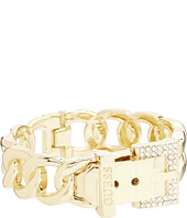 GUESS - Buckle Hinge Frozen Chain Bracelet w/ Pave Accent