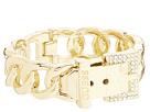 GUESS Buckle Hinge Frozen Chain Bracelet w/ Pave Accent