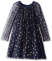 Stella McCartney Kids - Misty Girls Tulle Dress w/ Gold Hearts (Toddler/Little Kids/Big Kids)