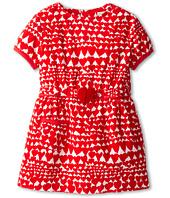 Stella McCartney Kids - Skippy Girls S/S Corduroy Heart Print Dress (Toddler/Little Kids/Big Kids)