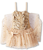 Stella McCartney Kids - Bonny Girls Metallic And Tulle Dress w/ Wings (Toddler/Little Kids/Big Kids)
