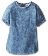 Stella McCartney Kids - Bess Girls S/S Denim Horse Print Dress (Toddler/Little Kids/Big Kids)