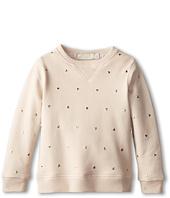 Stella McCartney Kids - Judy Girls Sweatshirt w/ Gold Heart Studs (Toddler/Little Kids/Big Kids)