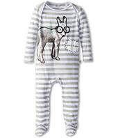 Stella McCartney Kids - Rufus Baby Boy Stripe Footie w/ Donkey (Infant)