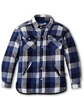 Stella McCartney Kids - Hunter Boys Plaid Woven Shirt (Toddler/Little Kids/Big Kids)