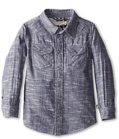 Stella McCartney Kids - Alasdhair Boys Chambray Button Down Shirt (Toddler/Little Kids/Big Kids)