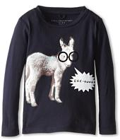 Stella McCartney Kids - George Boys L/S Tee w/ Donkey (Toddler/Little Kids/Big Kids)