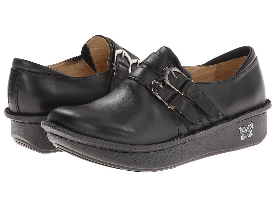Alegria Alli Professional Burnish Black Womens Clog Shoes