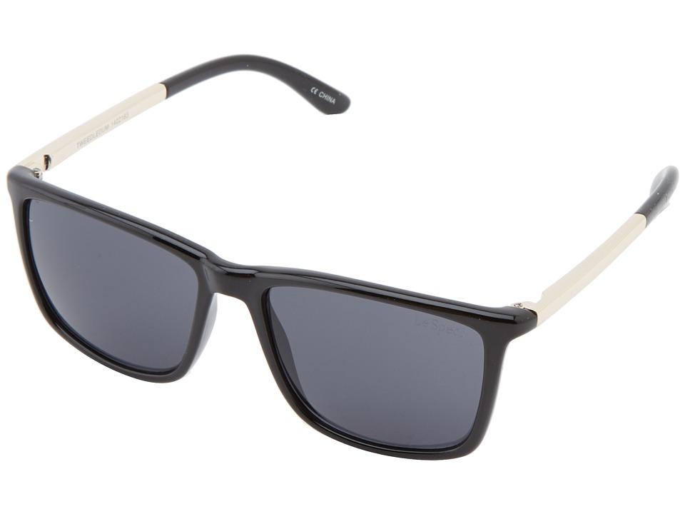 Le Specs Tweedledum (Black) Fashion Sunglasses