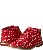 Stella McCartney Kids - Badger Girls Desert Shoe In Heart Print (Toddler/Little Kids)