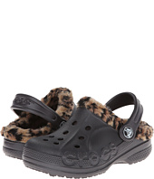 Crocs Kids - Baya Leopard Liner Clog (Toddler/Little Kid)
