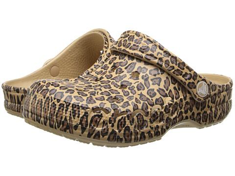 crocs leopard