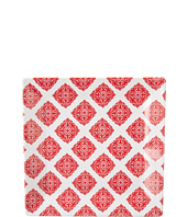 Q Squared - Square Plate Diamond Red