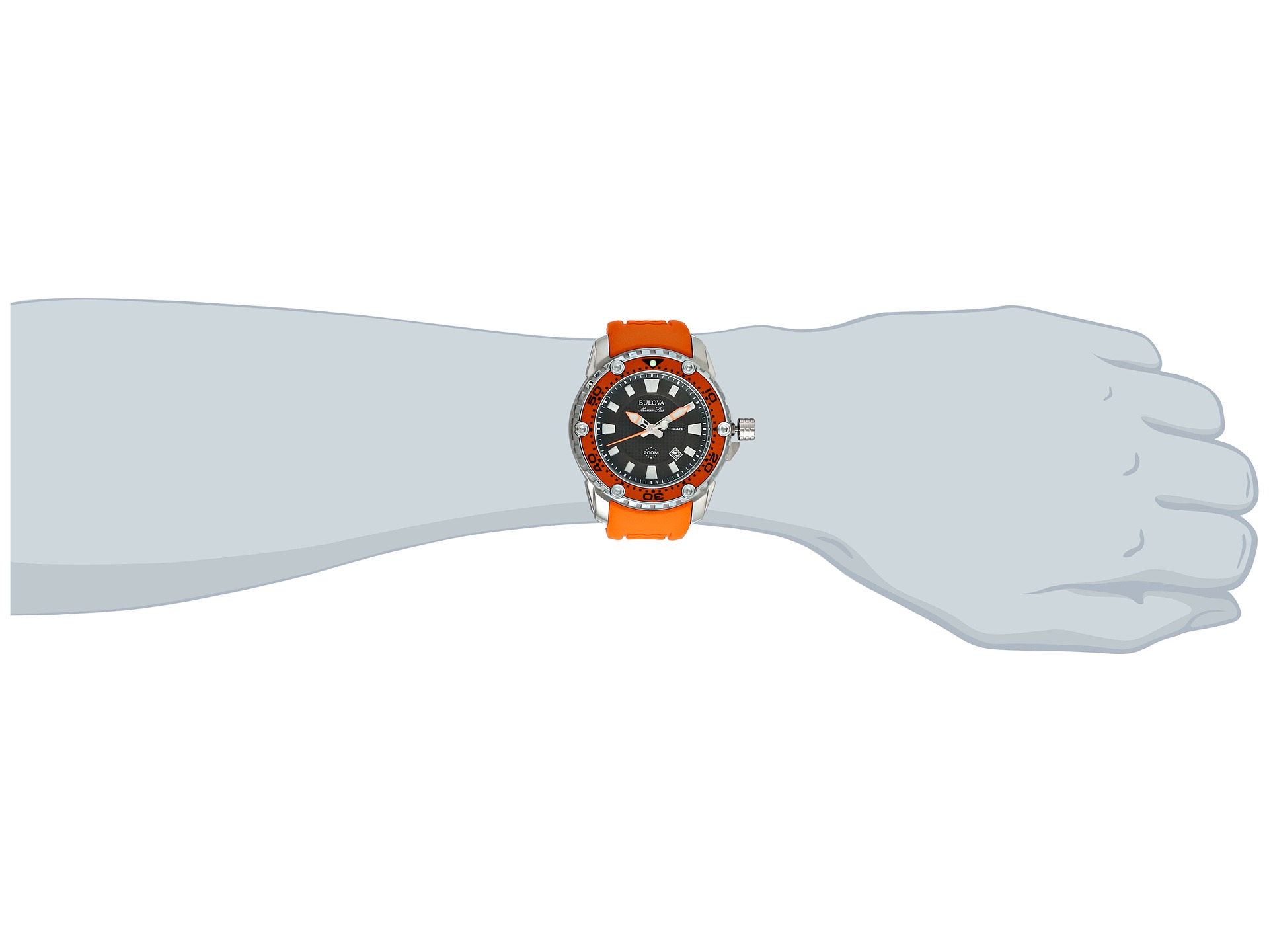 Bulova Mens Marine Star 98b207, Watches