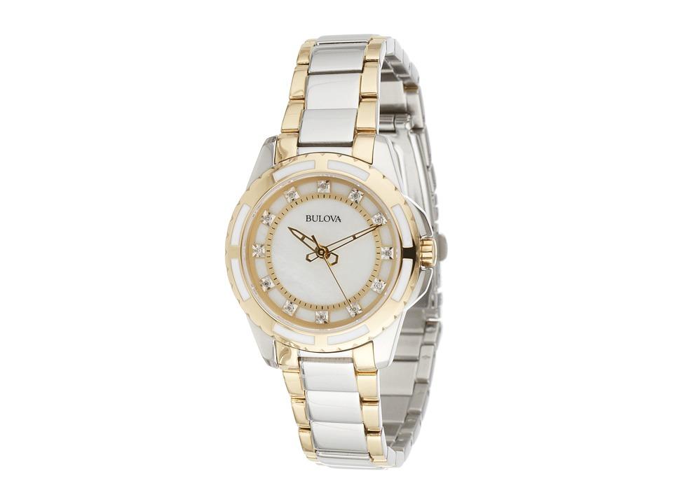 BULOVA Ladies Diamonds - 98P140 (Two Tone) Watches