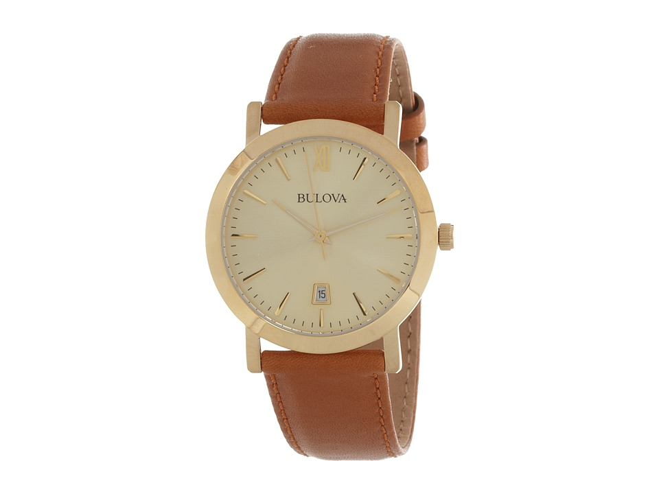 Bulova - Unisex Marine Star - 97B135 (Gold) Watches