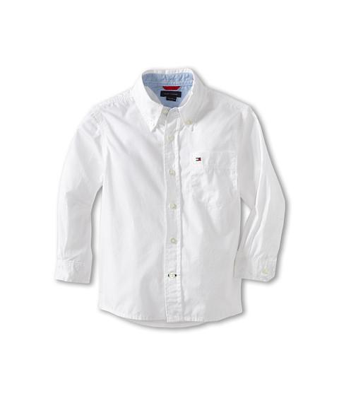 Tommy Hilfiger Kids Classic L/S Woven Shirt (Toddler/Little Kid)